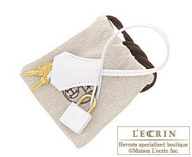 Hermes Birkin bag 35 White Epsom leather Gold hardware