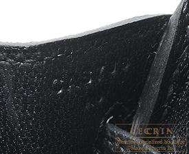 Hermes Birkin bag 25 Black Togo leather Gold hardware