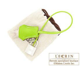 Hermes Candy Birkin bag 35 Kiwi/Kiwi green Epsom leather Silver hardware