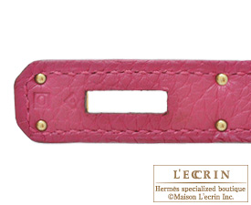 Hermes Birkin bag 35 Tosca Togo leather Gold hardware