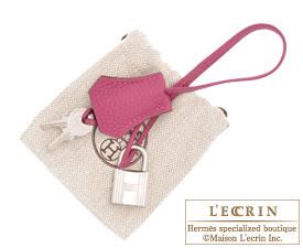 Hermes Birkin bag 35 Tosca Togo leather Silver hardware