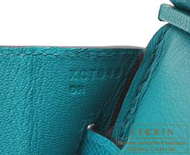 Hermes Birkin bag 30 Blue paon Epsom leather Gold hardware