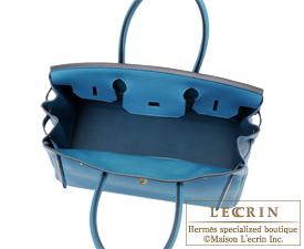 b790ba40cb04 Hermes Birkin bag 30 Cobalt Togo leather Gold hardware