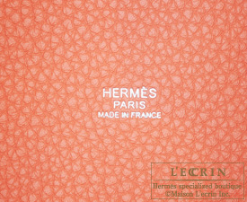 Hermes Picotin Lock bag PM Crevette/Crevette pink Clemence leather Silver hardware
