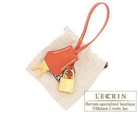 Hermes Birkin bag 35 Sanguine Fjord leather Gold hardware