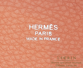 Hermes Picotin Lock bag PM Rose tea Clemence leather Silver hardware