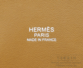 Hermes Bolide bag 31 Kraft Clemence leather Silver hardware