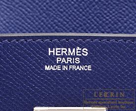 croc handbags cheap - Hermes Birkin bag 30 Blue saphir Epsom leather Silver hardware ...