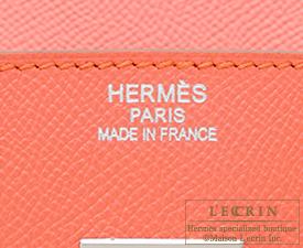 Hermes Birkin bag 35 Flamingo Epsom leather Silver hardware