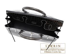 hermes birkin crocodile graphite