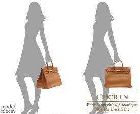 Hermes Birkin bag 40 Gold Togo leather Gold hardware