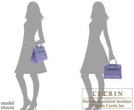 Hermes Birkin bag 30 Blue brighton Niloticus crocodile skin Silver hardware