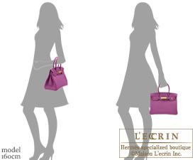 Hermes Birkin bag 30 Anemone Togo leather Gold hardware | Hermes ...