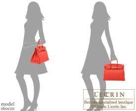 Hermes Birkin bag 35 Rouge pivoine Togo leather Gold hardware