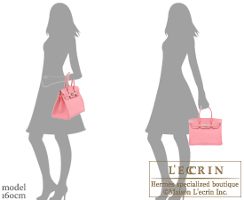 Hermes Birkin bag 30 Rose confetti Chevre myzore goatskin Silver hardware