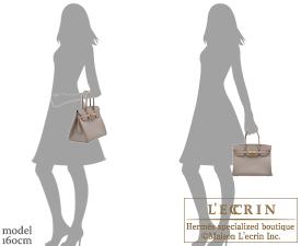Hermes Birkin bag 30 Gris asphalt Epsom leather Gold hardware