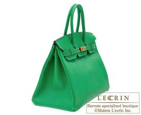 Hermes Birkin bag 35 Bambou Epsom leather Gold hardware