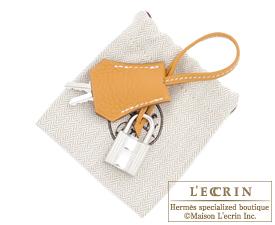 df8917a0c8a Hermes Birkin bag 25 Natural sable Togo leather Silver hardware ...