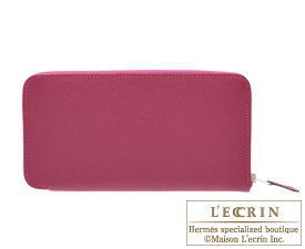 Hermes Azap long Tosca Epsom leather Silver hardware