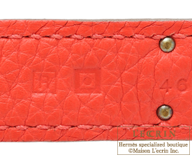 Hermes Birkin bag 35 Rose jaipur Clemence leather Gold hardware