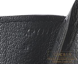 Hermes Birkin bag 30 Plomb Clemence leather Gold hardware