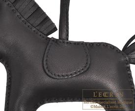 Hermes Rodeo charm Black Agneau