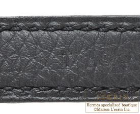 Hermes Birkin bag 25 Plomb Togo leather Silver hardware