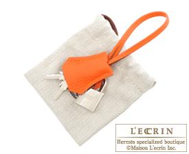 Hermes Birkin bag 30 Feu Togo leather Silver hardware | Hermes ...