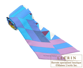 Hermes Twilly Psyche Cobalt/Arnica/Violine Silk