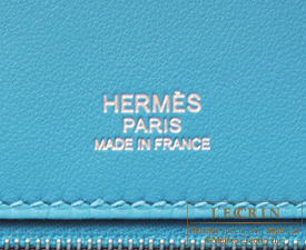 birkin bag cost - Hermes Birkin Ghillies bag 30 Turquoise blue Togo leather/ Swift ...