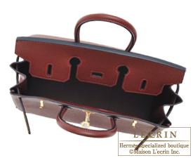 hermes birkin 30 rouge h epsom leather gold hardware
