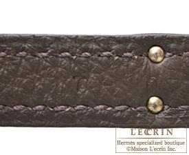 Hermes Birkin bag 25 Ecorce Togo leather Silver hardware