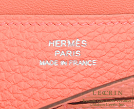 Hermes Dogon LONG Rose candy Togo leather Silver hardware