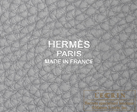 Hermes Picotin Lock bag PM Blue glacier Clemence leather Silver hardware