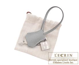 Hermes Birkin bag 30 Gris mouette Togo leather Silver hardware