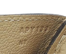 Hermes Birkin bag 30 Trench Togo leather Silver hardware
