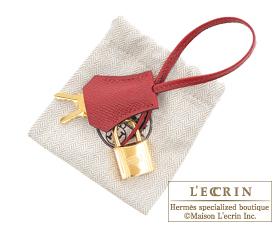 Hermes Birkin bag 30 Rouge grenat Epsom leather Gold hardware
