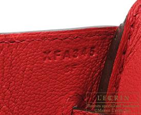 Hermes Birkin bag 30 Bougainvillier Epsom leather Matt gold hardware