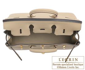 Hermes Birkin bag 25 Trench Togo leather Gold hardware