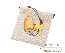 Hermes Picotin Lock bag MM Jaune ambre Clemence leather Gold hardware