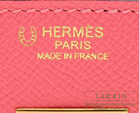 Hermes Birkin bag 30 Rose azalee/Gris mouette Epsom leather Gold hardware