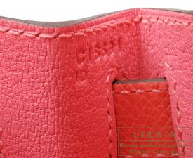 Hermes Kelly bag 28 Rose azalee/Rose jaipur Epsom leather Gold hardware