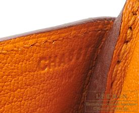 697fef9b8303 Hermes Birkin bag 30 Apricot Clemence leather Gold hardware