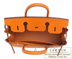 0a53b43b0408 Hermes Birkin bag 30 Apricot Epsom leather Silver hardware