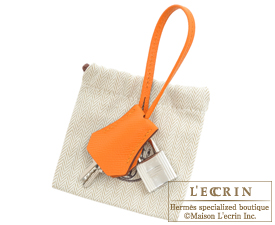 ... Hermes Birkin bag 30 Apricot Epsom leather Silver hardware 8242248950fb8