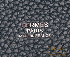Hermes Picotin Lock bag PM Vert cypres Clemence leather Silver hardware