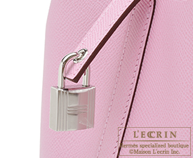 Hermes Picotin Lock Tressage De Cuir bag PM Mauve sylvestre/Jaune de naples/Rouge H Epsom leather Silver hardware