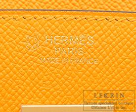 Hermes Birkin bag 30 Jaune d'or/Rose azalee Epsom leather Matt gold hardware
