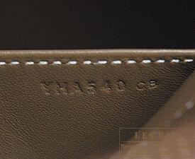 Hermes Bolide bag 27 Etoupe grey Epsom leather Silver hardware