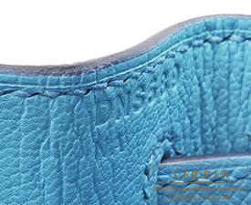 Hermes Kelly bag 28 Blue du nord Epsom leather Gold hardware